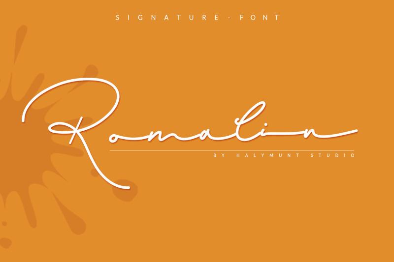 romalin-signature