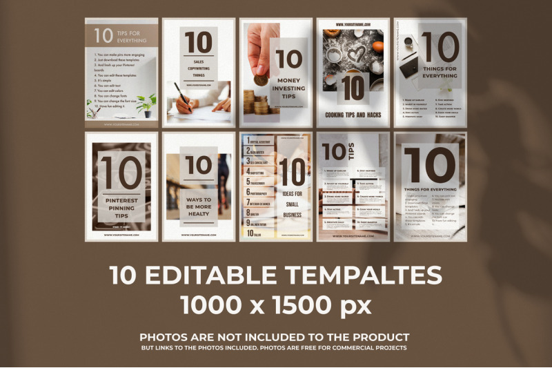 10-pinterest-editable-templates-10-pinterest-post-and-pins-with-list