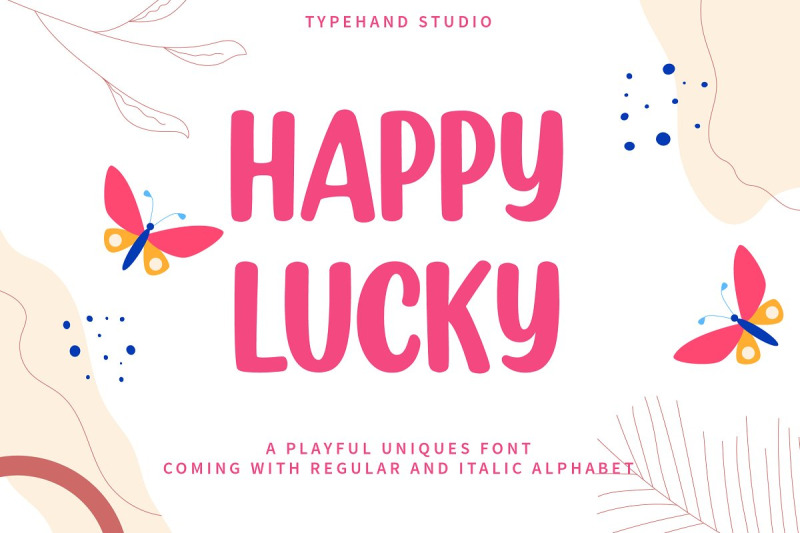 happy-lucky-playful-unique-font
