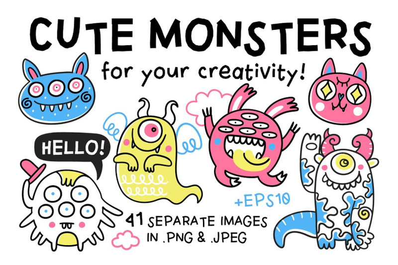 cute-monsters-collection