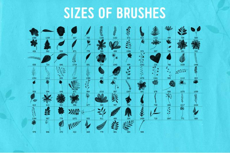 100-nature-photoshop-brushes