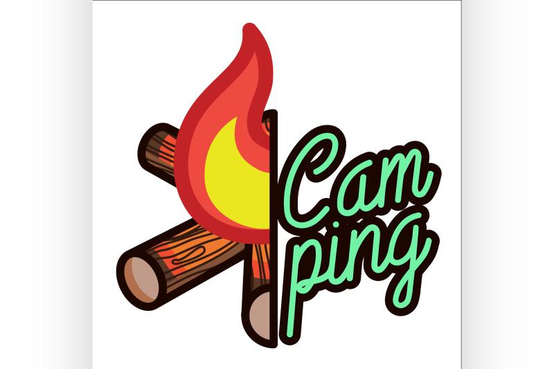 color-vintage-camping-emblem