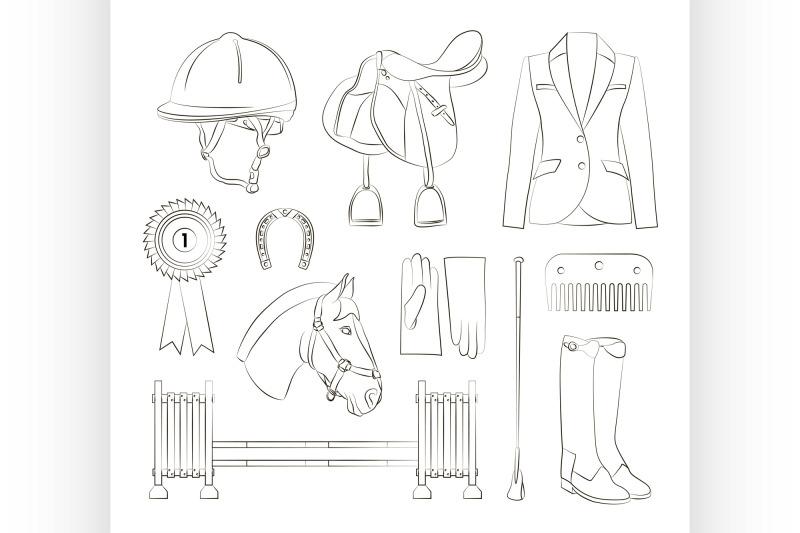 horse-riding-set