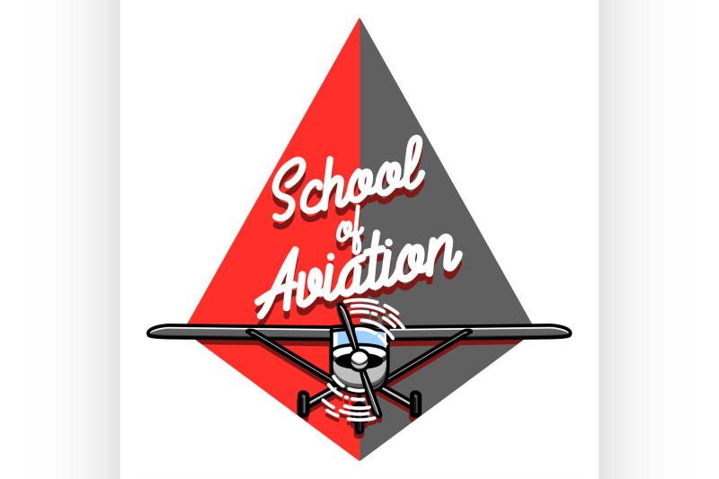 color-vintage-aviation-emblem