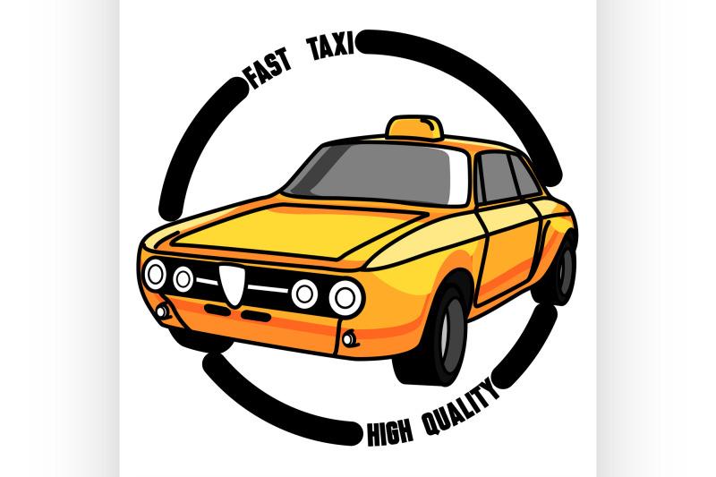 color-vintage-taxi-emblem