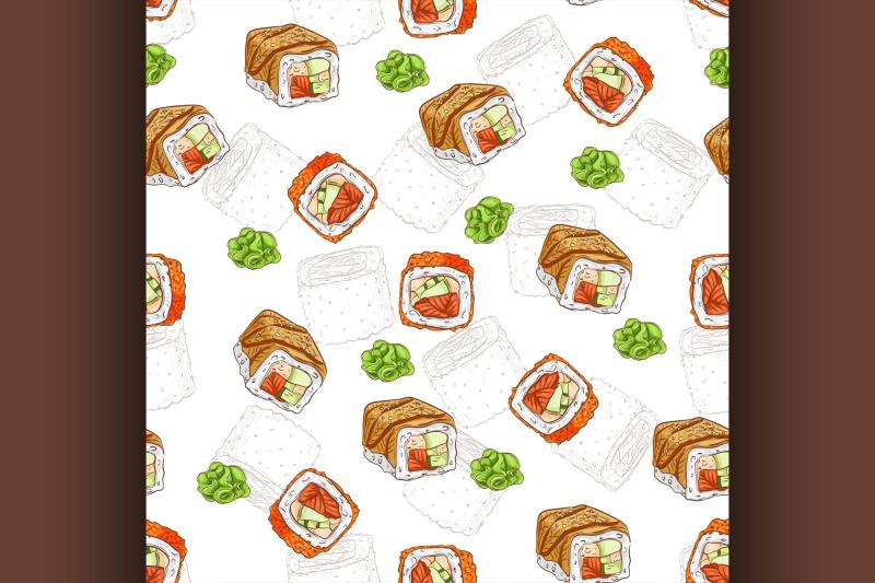 sushi-seamless-pattern