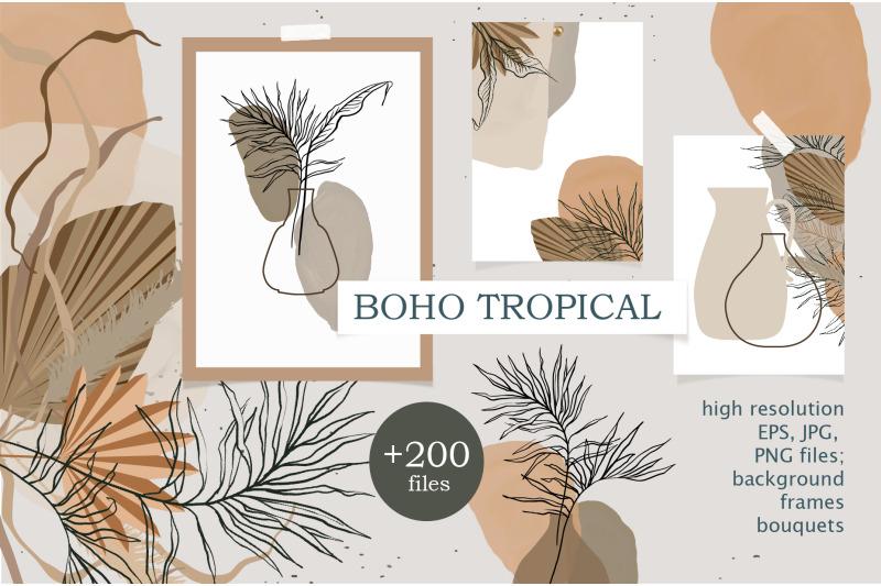 boho-tropical