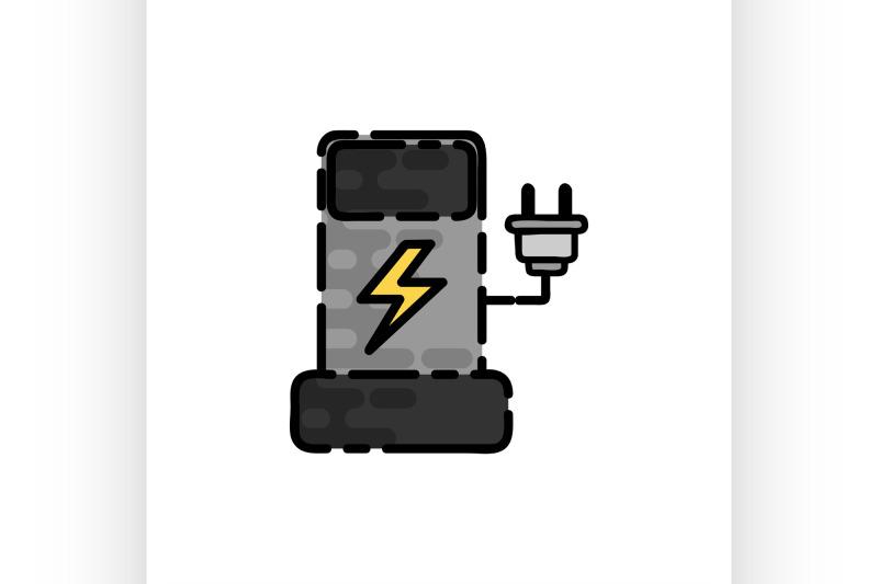 electric-car-flat-icon