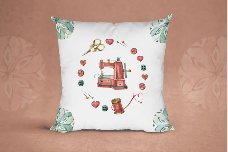 watercolor-sewing-logo-kit