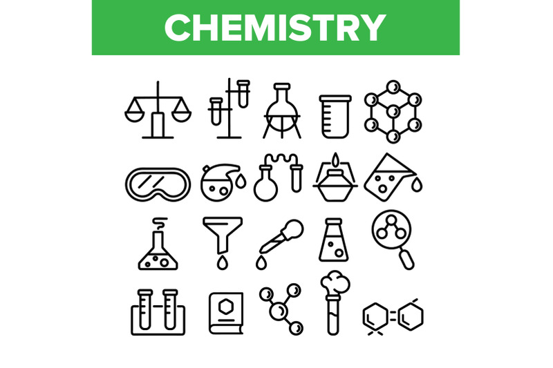 collection-chemistry-elements-icons-set-vector
