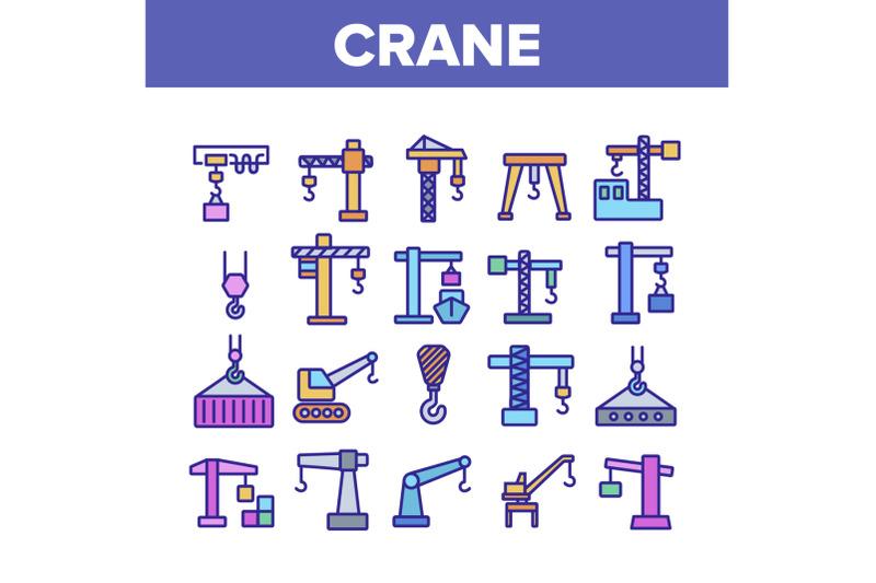 crane-building-machine-collection-icons-set-vector