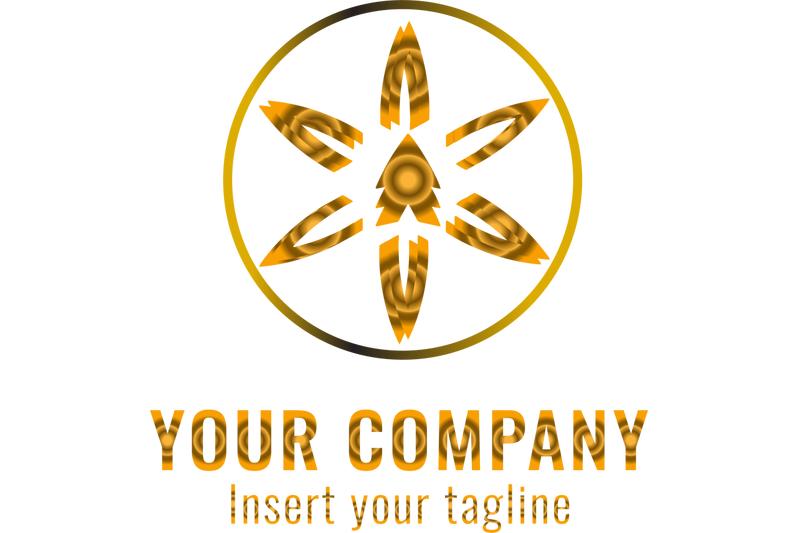 logo-gradation-icon-papper-flower