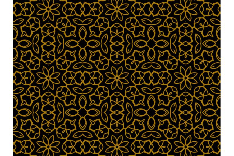 pattern-gold-ornament-luxury