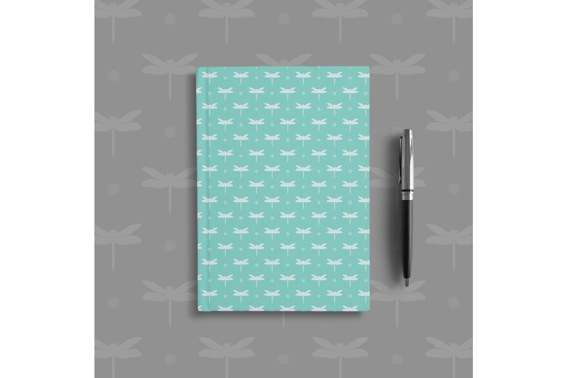 100-seamless-dragonfly-childhood-field-farm-digital-papers