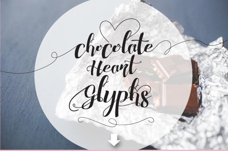 chocolate-heart-script-font