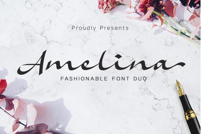amelina-font-duo