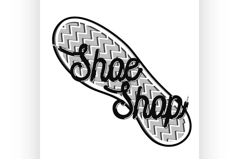 color-vintage-shoe-shop-emblem