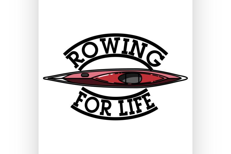 color-vintage-rowing-emblem