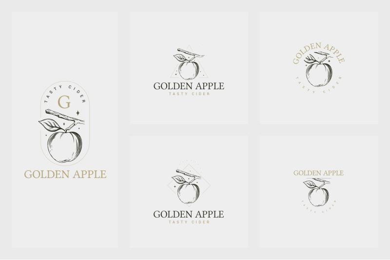22-organic-logo-templates
