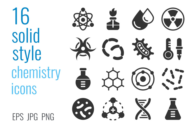 chemistry-icon-set
