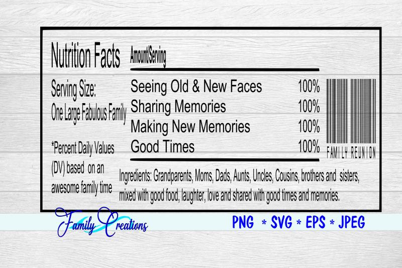 fabulous-family-reunion-nutrition-label