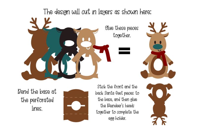 reindeer-christmas-egg-holder-design