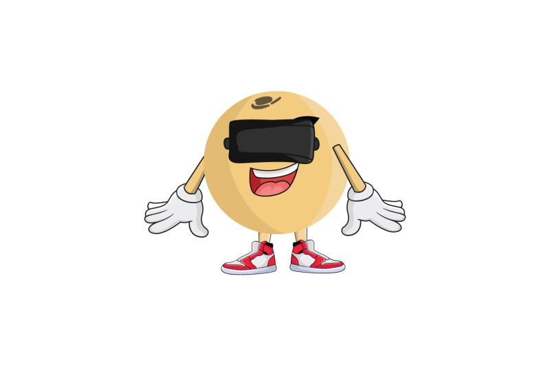langsat-vr-fruit-cartoon-character-design