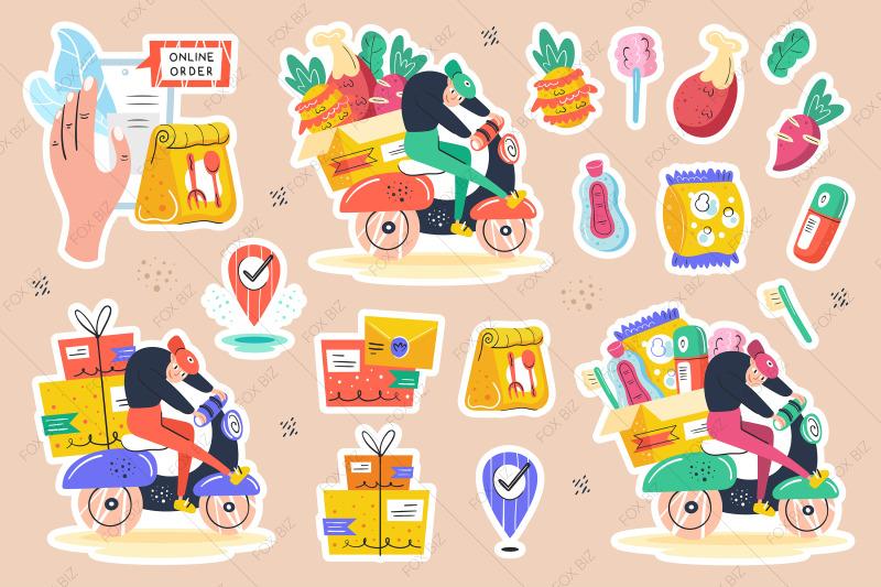 big-delivery-clipart-flat-vector-digital-prints-stickers
