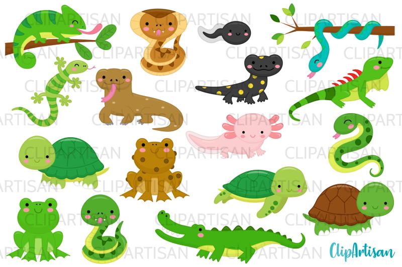 reptiles-and-amphibians-clip-art