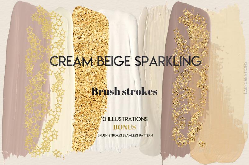 cream-beige-sparkling-brush-strokes-clip-art