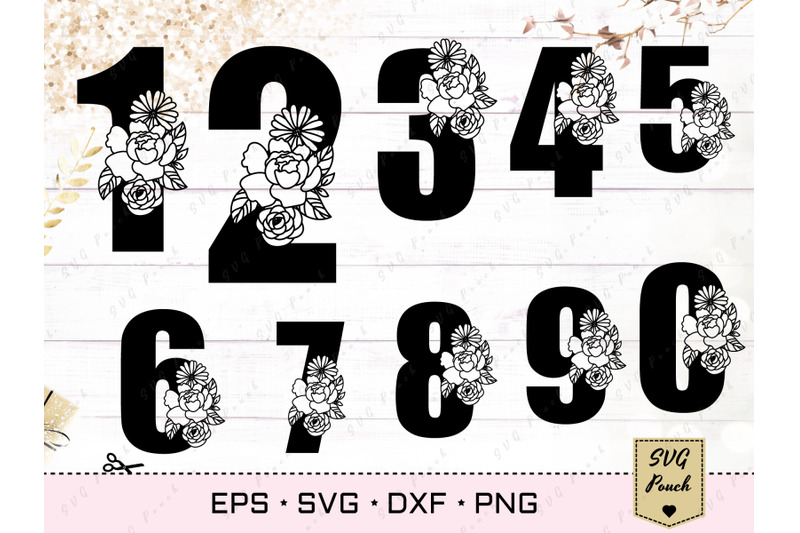 floral-anniversary-numbers-svg