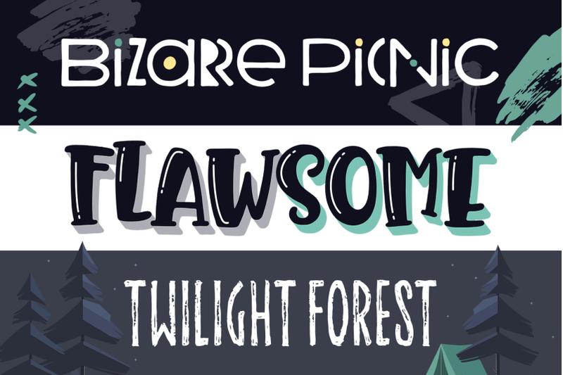 summer-nights-font-trio