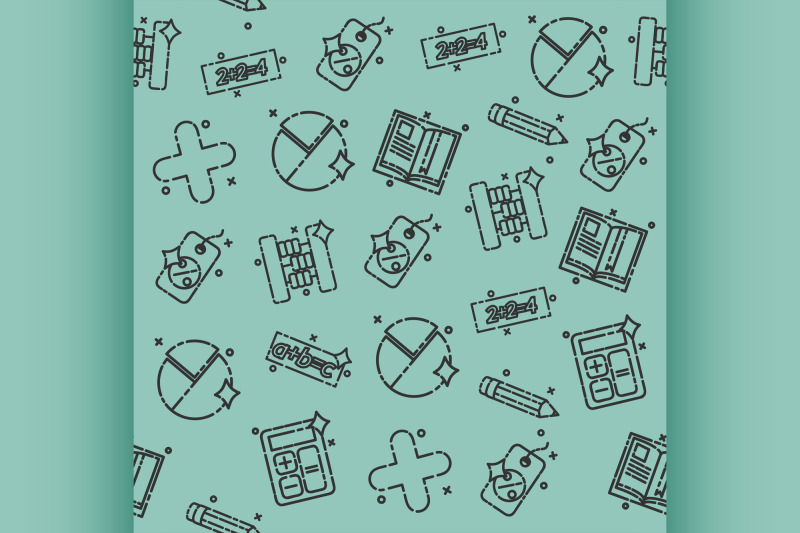 algebra-concept-icons-pattern