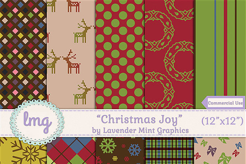 christmas-joy-non-textured-digital-holiday-papers