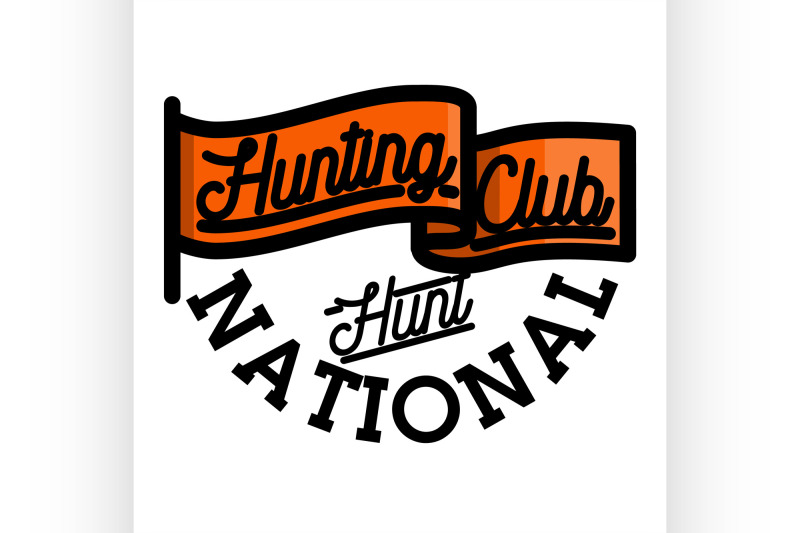color-vintage-hunting-club-emblem