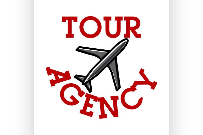 color-vintage-tour-agency-emblem