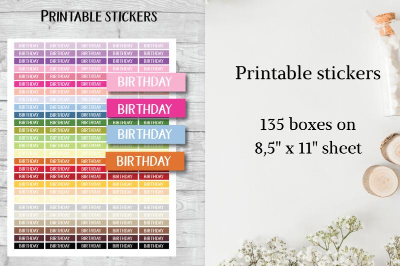 birthdate-sticker-birthday-sticker-birtdate-frame-clipart