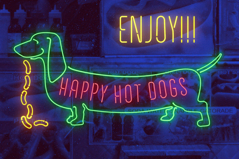 compressed-neon-font-and-graphic-presets