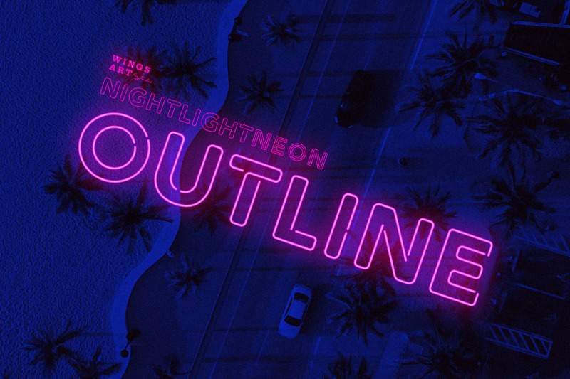 outline-neon-font-and-graphic-presets