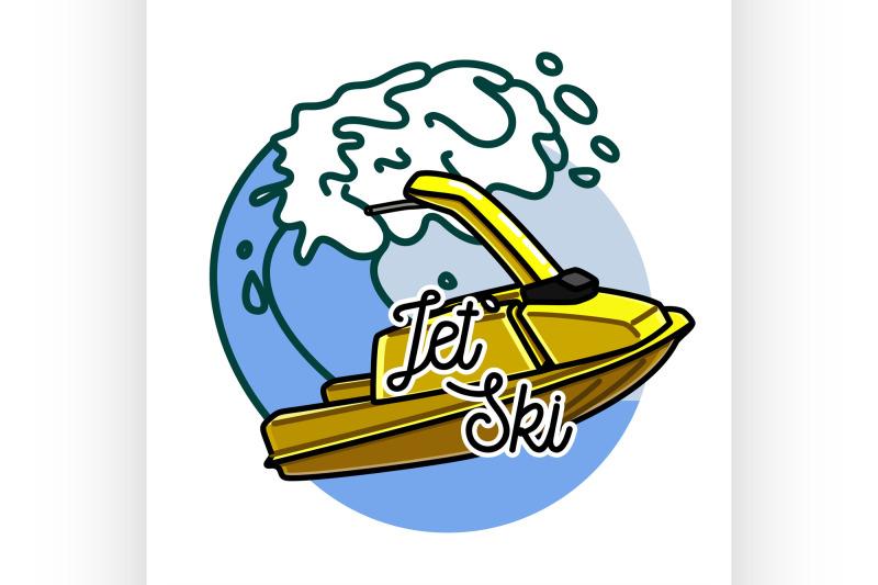 color-vintage-jet-ski-emblem