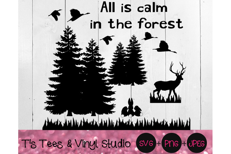 deer-svg-geese-svg-outdoors-svg-bunny-svg-rabbit-svg-forest-svg