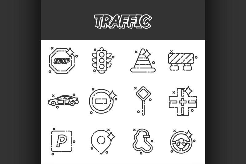 traffic-icons-pattern