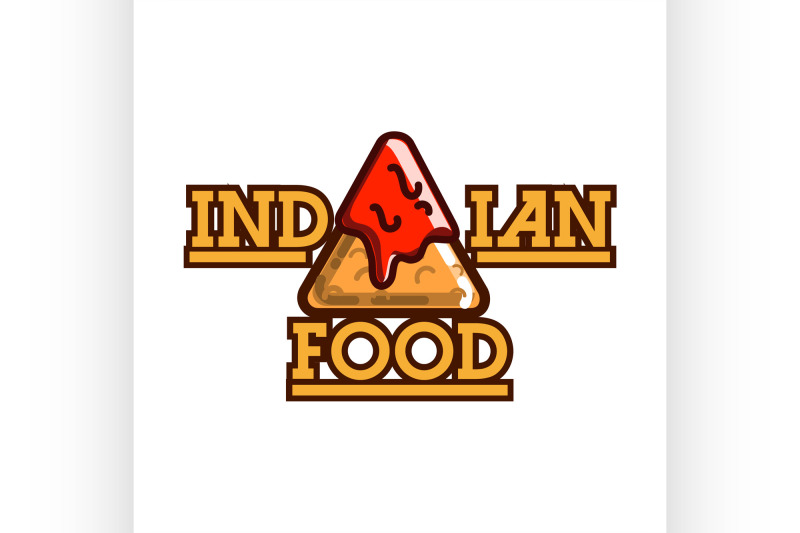 color-vintage-indian-food-emblem