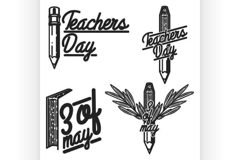 vintage-teachers-day-emblems