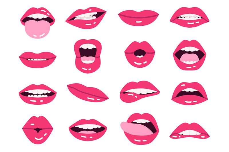 smile-cartoon-lips-beautiful-pink-lips-kissing-show-tongue-smiling