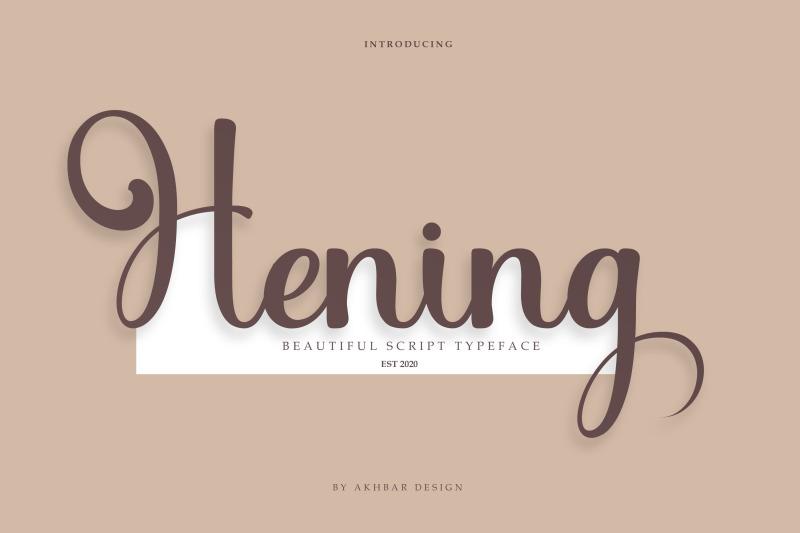 hening