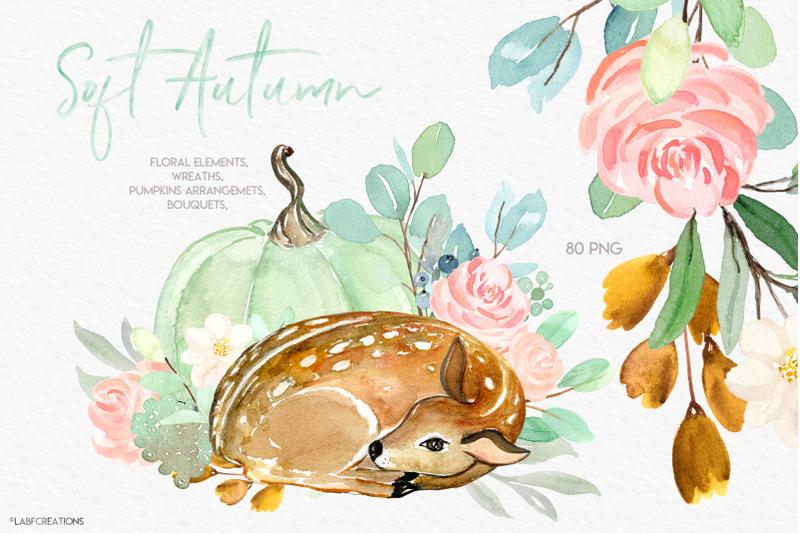 soft-autumn-baby-animals-deer-amp-pumpkins-clipart
