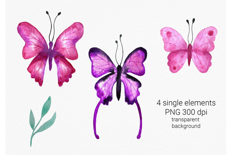 pink-and-purple-butterflies-clipart
