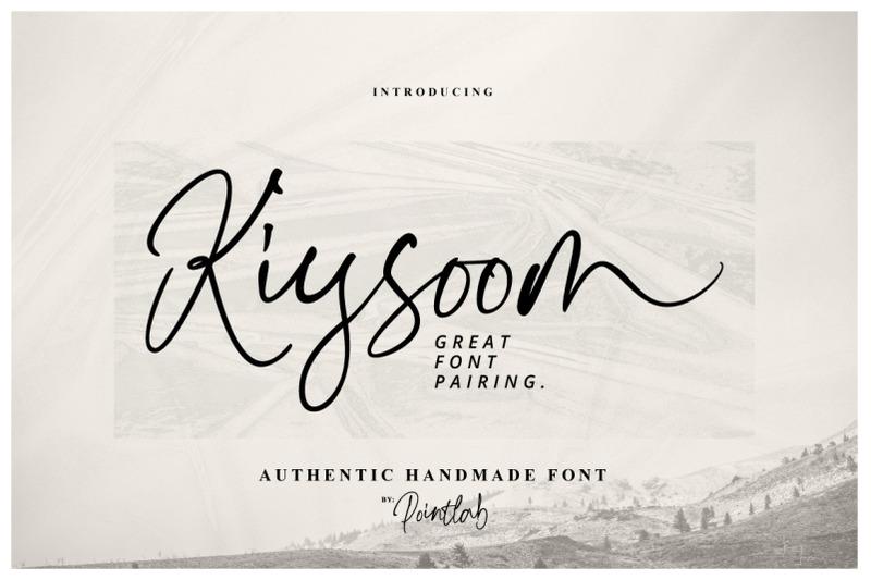 kiysoom-signature