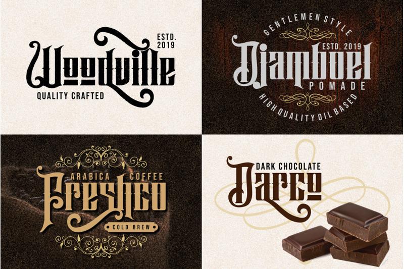 hijrah-blackletter-typeface